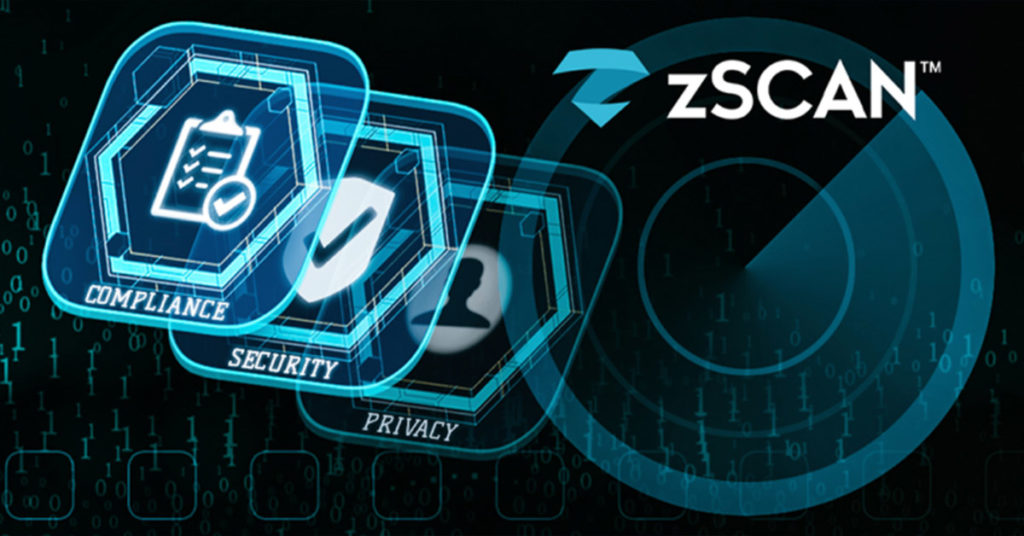 zScan discovers and fixes compliance, privacy, and security issues before released as part of the development process.